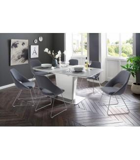 Stół rozkładany KOAMI 160 cm - 210 cm biały do salonu