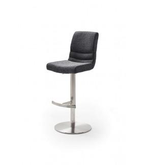 Krzesło Barowe MONTERA antracytowe