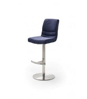 Krzesło Barowe MONTERA Granatowe