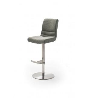 Krzesło barowe MONTERA szare