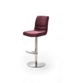 Krzesło Barowe MONTERA Bordowe