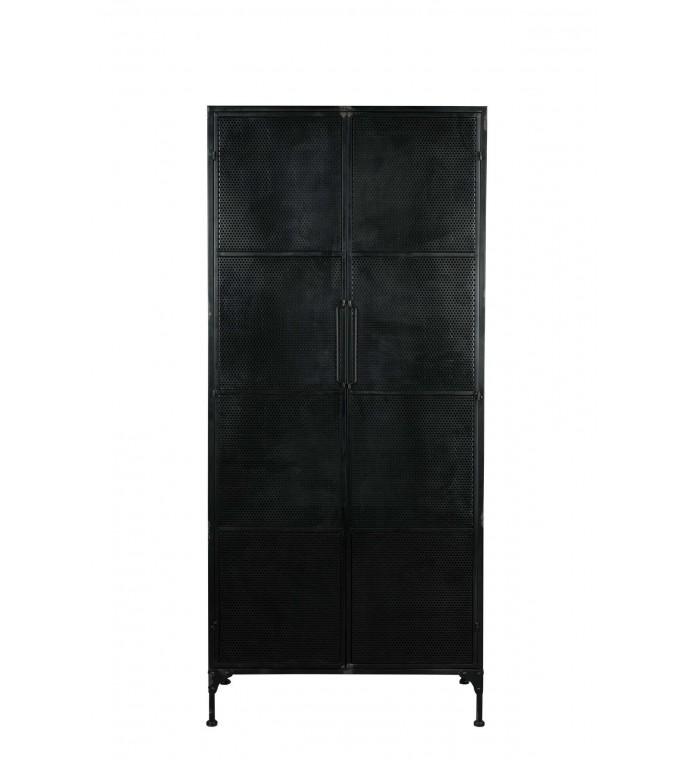 Szafa TEXAS 180 cm czarna do salonu