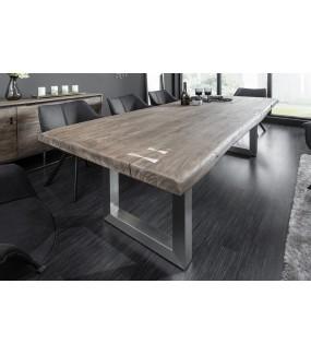 Stół Maamut 240 cm szara akacja