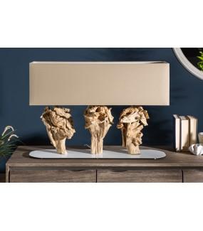 Lampa stołowa Scul 80 cm beżowa