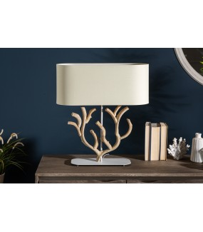 Lampa stołowa Korall beżowa