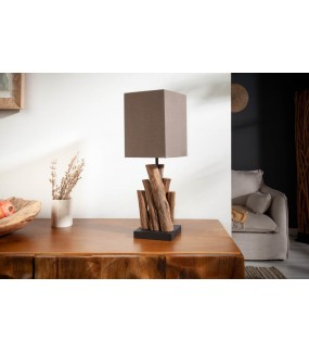 Lampa stołowa Pure Nature brązowa