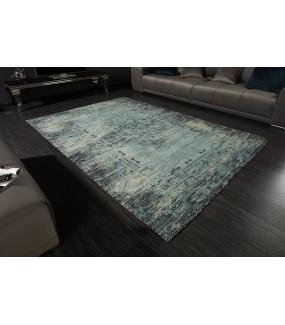 Dywan Mirakesz 160 cm x 200 cm w odcieniach niebieskiego