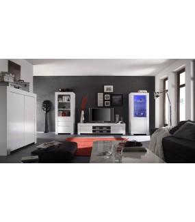 Stolik pod TV AMALFI 140 cm biała