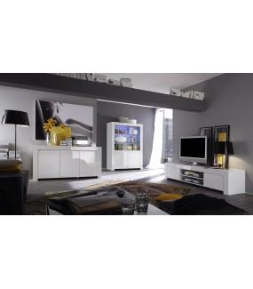 Stolik Pod TV AMALFI 190 Cm Biały