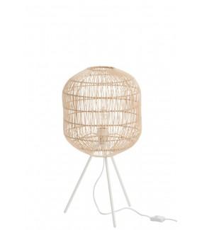 Lampa stołowa Rattan naturalna