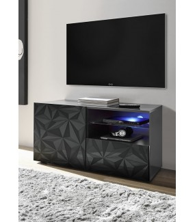 Stolik Pod TV PRISMA 122 Cm Antracytowy