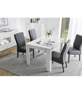 Stół PRISMA 137 Cm - 185 Cm Biały