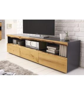 Ciekawy stolik pod TV do klasycznego pokoju dziennego oraz skandynawskiego salonu
