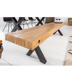 Industrialna ławka do salonu