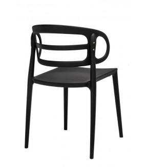 Krzesło Marcus czarne do jadalni