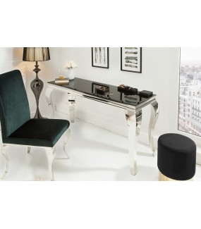 Konsola Modern Barock 140 cm czarna do salonu