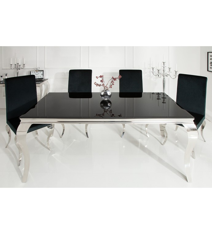 Stół Modern Barock 180 cm czarny