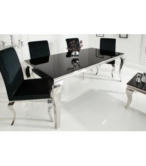 Stół Modern Barock 180 cm czarny do salonu