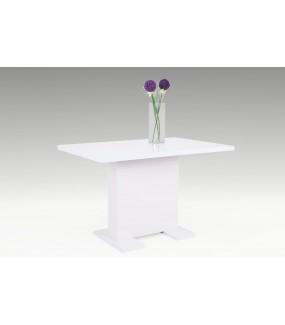 Stół rozkładany WIEBKE 120 cm - 160 cm biały