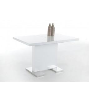 Stół rozkładany IRIS 120 cm - 160 cm biały