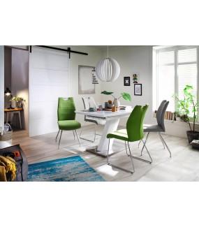 Stół rozkładany GALINA 140 cm - 180 cm biały
