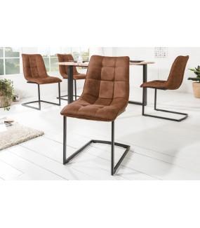 Krzesło MIAMI brązowe