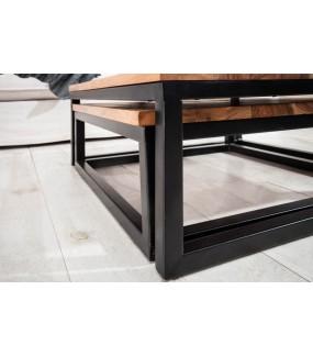 Industrialny stolik kawowy do salonu