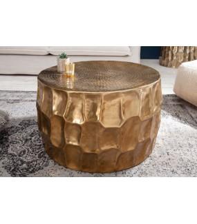 Stolik kawowy Kerrasch 70 cm złoty