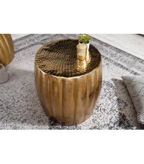 Stolik Kawowy Kerrasch 42 Cm Złoty