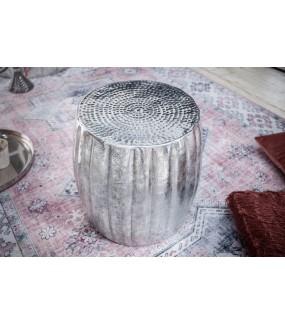 Stolik Kawowy Kerrasch 42 Cm Srebrny