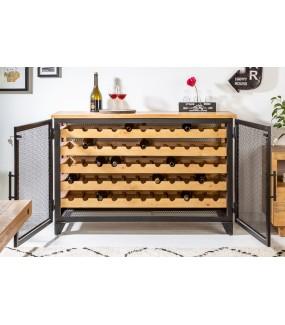 Industrialna szafka na wino