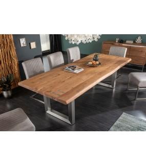 Stół Maamut 240 cm naturalna akacja do salonu