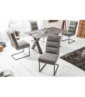 Krzesło Comfort ciemnoszare