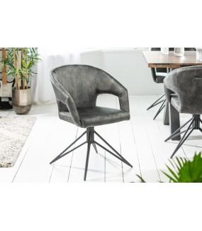 Krzesło Obrotowe Etna ciemnozielone