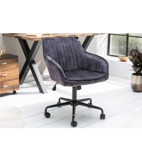 Krzesło biurowe Dutch Comfort ciemnoszare