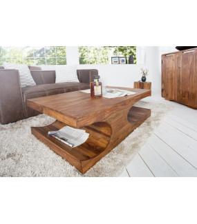 Naturalny stolik z drewna Sheesham