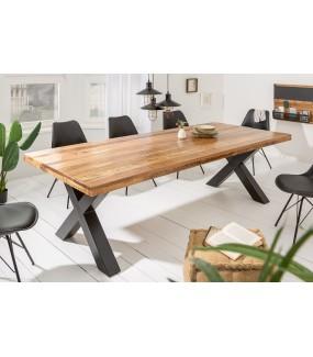 Stół Iron Craft X 200 Cm Mango Naturalny