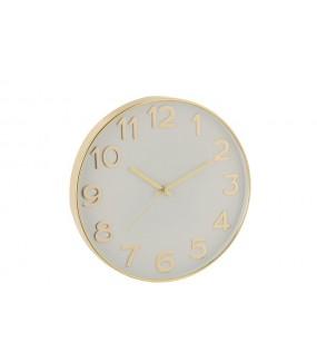 Zegar Num 40 cm złoty