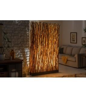 Lampa podłogowa Parave 180 cm longan naturalna do salonu