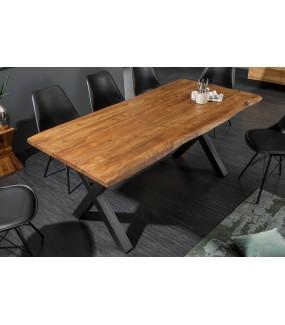 Stół ARKTYKA X 180 Cm Akacja w kolorze miodu