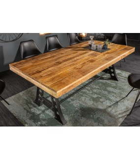 Stół Industrial 200 cm Mango do salonu