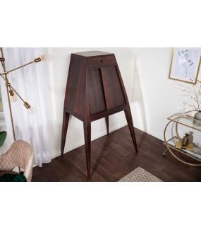 Stojak na wino OSIDO150 cm Shesham brązowy