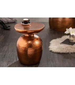 Stolik kawowy Orient 36 cm w kolorze miedzi