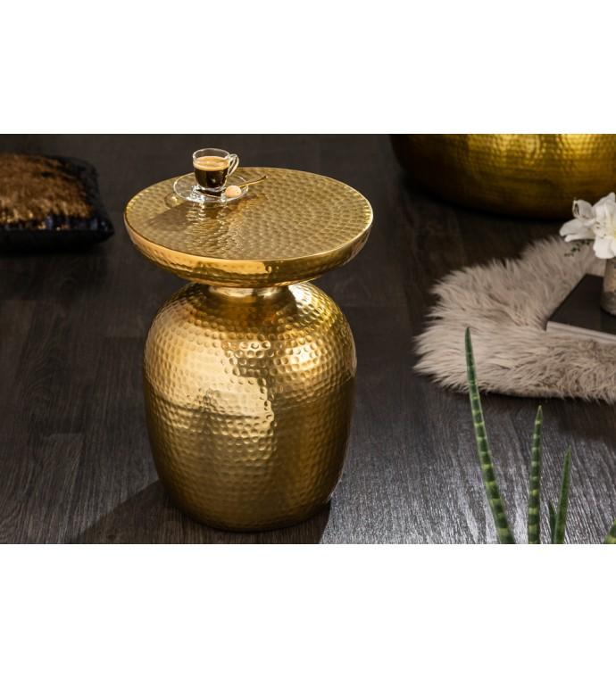 Stolik Kawowy Orient 36 Cm W Kolorze złotym