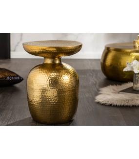 Stolik Kawowy Orient 36 Cm W Kolorze złotym do salonu