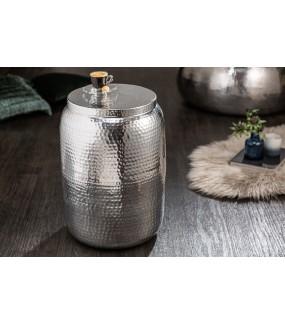 Stolik kawowy Orient 35 cm w kolorze srebrnym