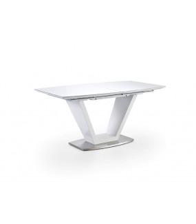 Stół rozkładany ILKO 160 cm -220 cm biały