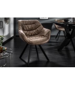 Krzesło Dutch Comfort szarobrązowe