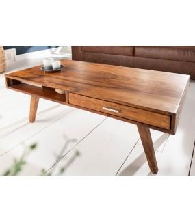 Stolik kawowy Retro 100 cm drewno Sheesham