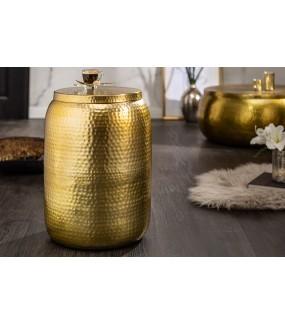 Stolik Kawowy Orient 35 Cm W Kolorze złotym